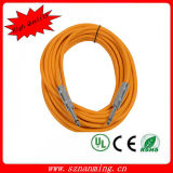 "1/4 ""Straight Connector Guitar / Instrument Cable"