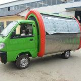 Автомобиль еды с машиной мороженного создателя льда мягкой для сбывания