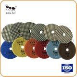 Qualidade Super Dry&Molhado polimento de diamantes para betão de pedras