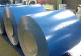Bobina de acero cubierta color galvanizada sumergida caliente