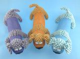 Jouet de crabot d'animal familier de peluche avec le Squeaker à l'intérieur de trois Asst.