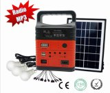 Sdm-3790を満たす電話が付いている新しく再充電可能な携帯用太陽エネルギーのホームライト