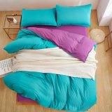 中国製熱い販売の安いmicrofiberの固体寝具セット