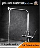 Le luxe de haute qualité en acier inoxydable robinet du bassin à levier unique
