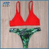 Le maillot de bain neuf de maillot de bain de 2017 femmes de bikinis soulèvent des vêtements de bain
