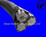 0.6/1kv XLPE de aluminio con aislamiento de conductor con AAC, ACSR, AAAC Conductor Messenger