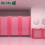 Cubículos del tocador del jardín de la infancia del laminado del compacto de Jialifu