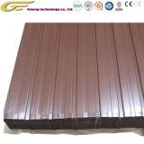 Los materiales de construcción de la bobina de acero de color Acero Inoxidable placas de material de techos