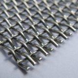 La fabbrica produce la rete metallica unita di vibrazione tessuta 45mn 65mn