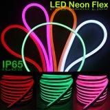Flexible cuerda luz LED Neon en color rosa