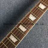 1PCS горловины Lp электрической гитаре с белыми звездами (НЛП-634)