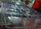 Schaumkunststoff-Schnellimbiss-Tellersegment-Behälter-Vakuum, das Maschine bildet