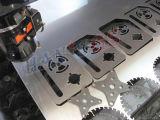 Auto máquina do cortador de metal de folha da placa do software do assentamento para Ss/Aluminum/Brass