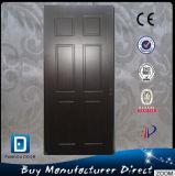 Porta de madeira interior moderna da madeira do PVC do MDF