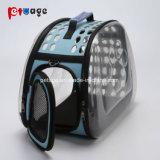 Elemento portante trasparente dell'animale domestico del sacchetto di EVA del prodotto dell'animale domestico della spalla del sacchetto del cane