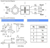 0.1-2W vaste Input, de Geregelde Enige Reeks van de Convertor wrfxxxx-S/D van Volatage gelijkstroom van de Output
