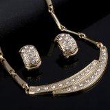 Conjunto nupcial cristalino de la joyería de los granos africanos