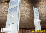 Inteligente integrado de 100W módulo LED lámpara solar Calle luz LED