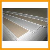 Placa de yeso estándar para la partición de techo y pared