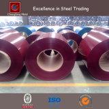 Bobine en acier enduite par couleur d'ASTM A653 (CZ-C28)