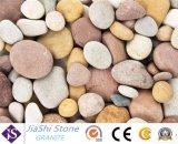 Хорошее качество природных речного камня с полированными