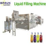 Frasco de plástico automático de limpeza com água mineral Bebidas Máquina de nivelamento de Enchimento