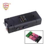 Het miniatuur Elektrisch Verbazen overweldigt Kanonnen met Schok het Laden USB met van het Flitslicht (tw-801)