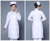 Les femmes de l'hôpital médical de l'infirmière Gommages long manteau de vêtements de laboratoire