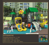 Kaiqi Media-fêz sob medida Playground de Forest Series Children com Spiral Slide, Climbing Wall e More! (KQ50079C)