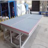 Jinan 밝은 유리제 끊는 테이블 또는 유리 기계