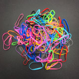 200PCS-Clear-Ponytail-Elastic-Rubber-Band-Hair-Ties-Ropes-Rings