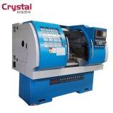 水平の車輪修理CNCの旋盤の中国のダイヤモンドの打抜き機