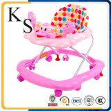 Baby-gehender Stuhl/sicheres Entwurfbabywalker-/grosses Spiel-runder Baby-Wanderer