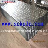 使用された波形の屋根シート