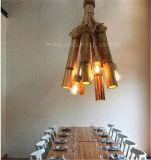 Luminária pendente distintiva decorativa com bambu