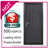 Economia de baixo preço, aço barato a porta de segurança para a construção do projeto (EF-C002)