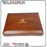 革硬貨コレクションのケースのギフト用の箱の木の現金ボックス記念品の記念する硬貨ボックス(G10)