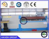 W11H-4X3000 quanlity alta rolos inferiores Arc-Adjust máquina de laminação de flexão da placa