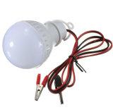 Alta calidad de 5W E27 6000k Camping Casa de emergencia de la caza de la luz exterior bombillas LED lámpara de 12V CC