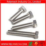 Vis de machine de boulon de tête Hex de l'acier inoxydable DIN933 M5-M33