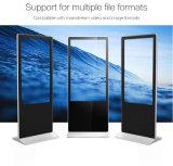WiFi Netz 42 Zoll-Fußboden, der LCD-Bildschirmanzeige mit HD-MI steht