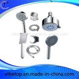 Douchette de salle de bain en métal avec chromé
