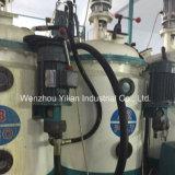 Baja presión de doble densidad Tipo de transportador PU vertiendo la máquina con AC Drive