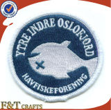High Quality Custom Logo Self-Adhesive Embroidery Patch (FTPT2303A)