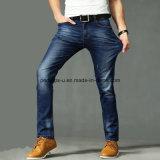 Jeans diritti all'ingrosso di stirata di Csutom dei pantaloni lunghi degli uomini di estate