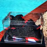 Kundenspezifischer hochwertiger freier Acrylabsinken-Vorderseite-Schuh-Schaukarton