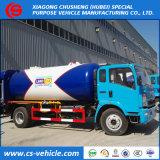 Gas-Becken-LKW12000l 12m3 LPG Bobtail des Fabrik-Lieferanten-6mt LPG mit Zufuhr