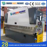 Frein hydraulique de presse de feuille de la commande numérique par ordinateur solides solubles de We67k