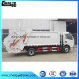 De Vuilnisauto van de Pers van Dongfeng 4X2 7m3 8cbm 10cbm