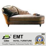 Chaise longue intéressante d'armature en bois de conception (EMT-LC16)